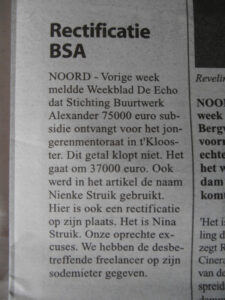 rectificatie